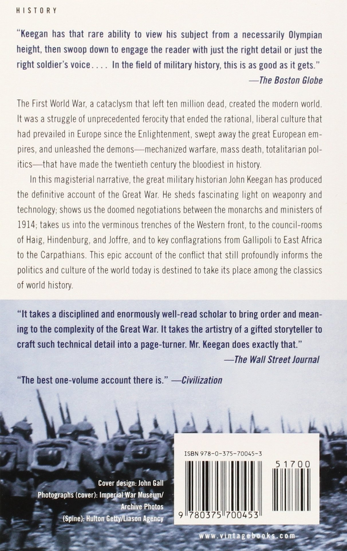 The First World War: Amazon.es: John Keegan: Libros en idiomas extranjeros