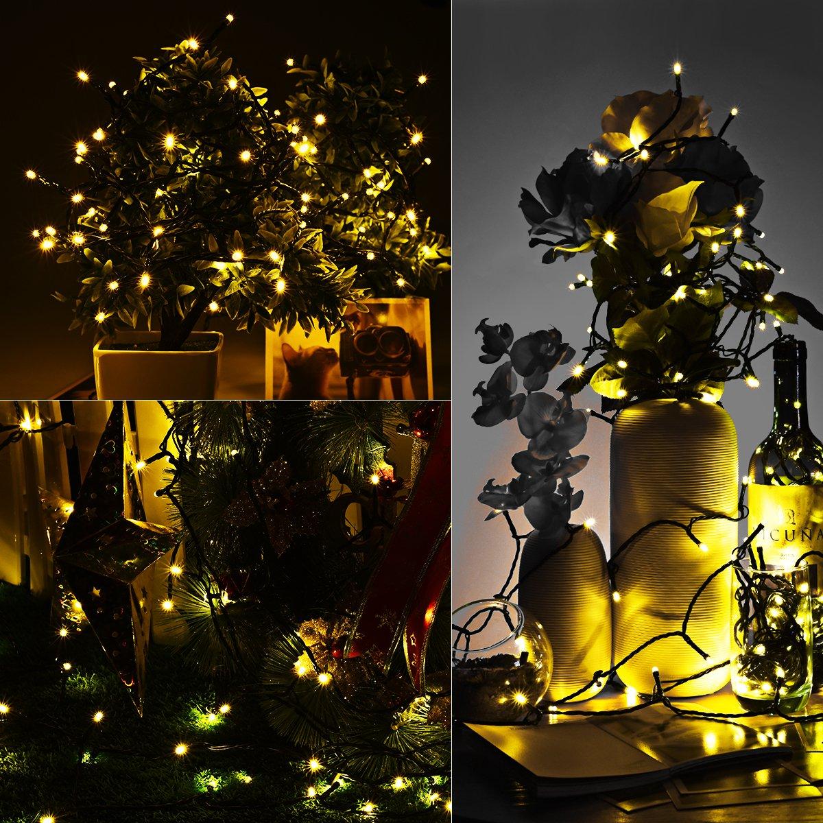 Guirnalda Luces Navidad de 22 metros por solo 16,99€