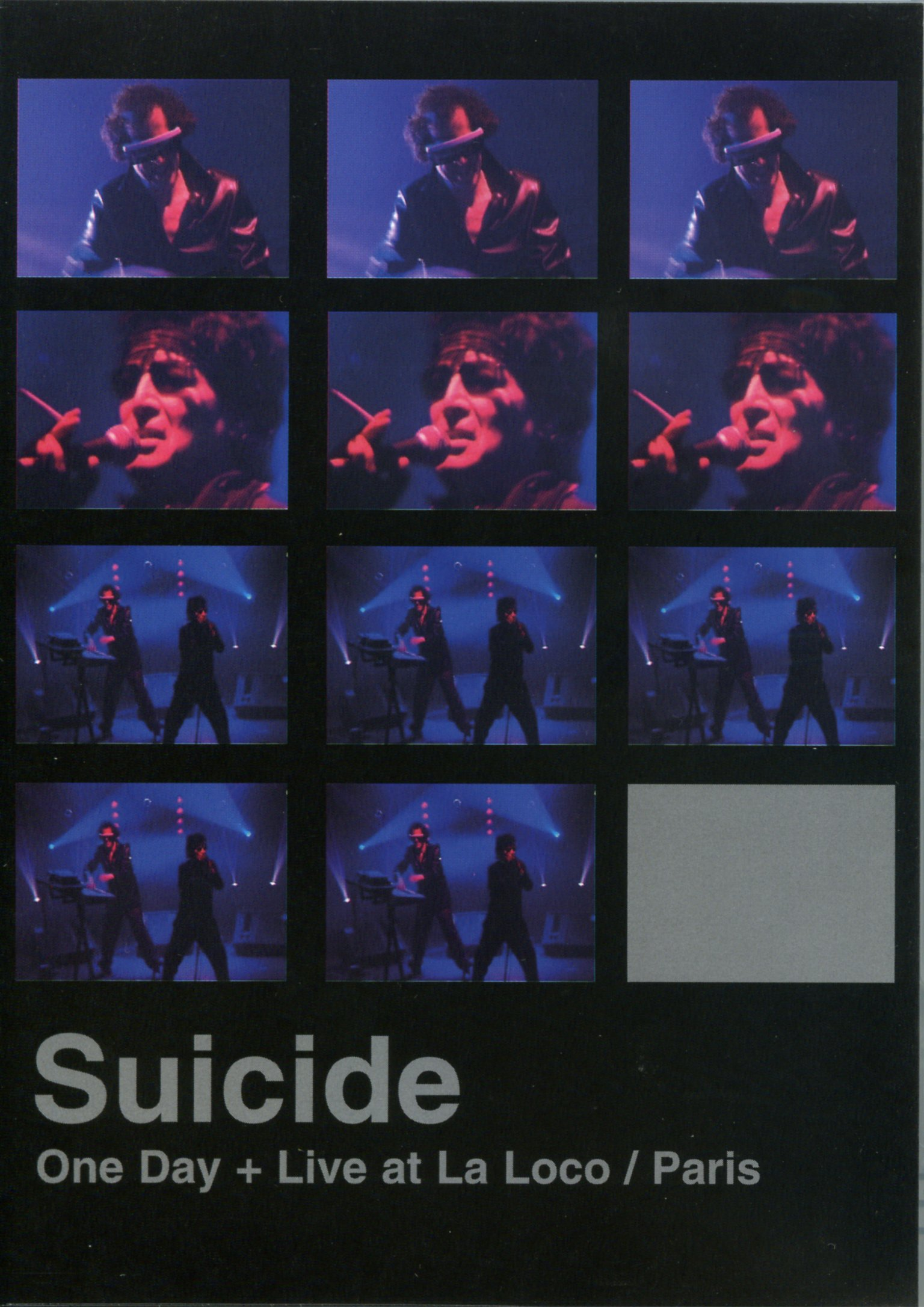 Suicide: One Day + Live at La Loco/Paris by Nocturne