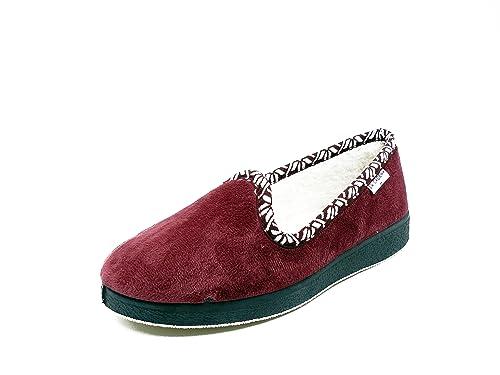 varios estilos comprar varios estilos Zapatilla mujer estar por casa LA CADENA, en paño color ...
