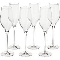 Stolzle Lausitz Exquisit Royal Champagne Glassware,Clear, 265ml, Pack of 6, (149 00 29)