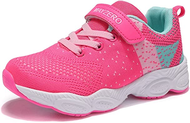 Toddler//Little Kid//Big Kid Lingmu Girls Boys Fashionable Running Shoes Kid Breathable Non-Slip Tennis Shoes Outdoor Sports Shoes Childrens