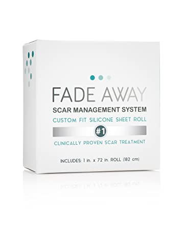 Amazon Com Fade Away Silicone Gel Scar Treatment Sheets 6ft Trim