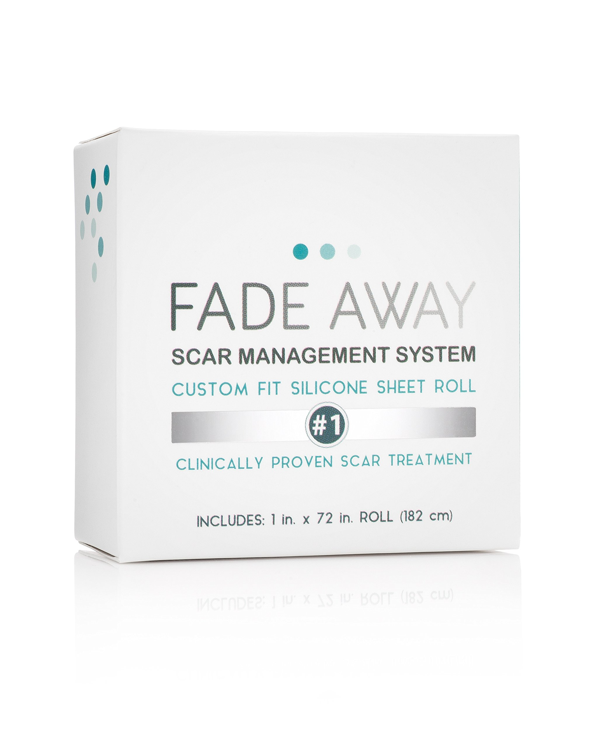 Fade Away Silicone Gel Scar Treatment Sheets - 6ft Trim-to-Size Roll