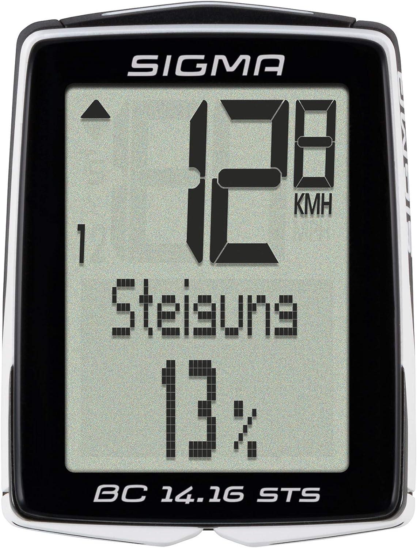 Sigma 01418 Ciclocomputador, Negro: Amazon.es: Deportes y aire libre