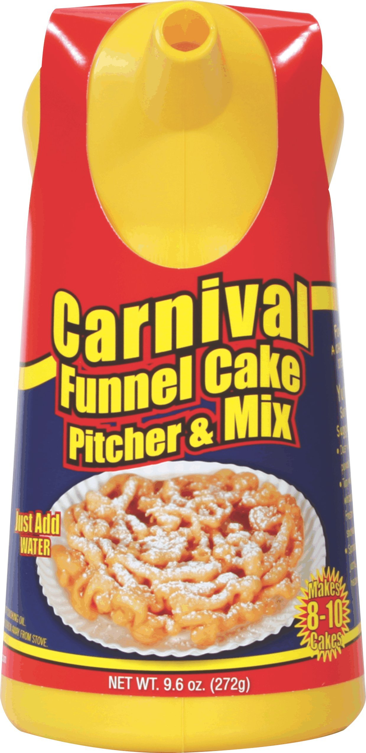 Fun Pack Foods • Carnival Funnel Cake Pitcher & Mix