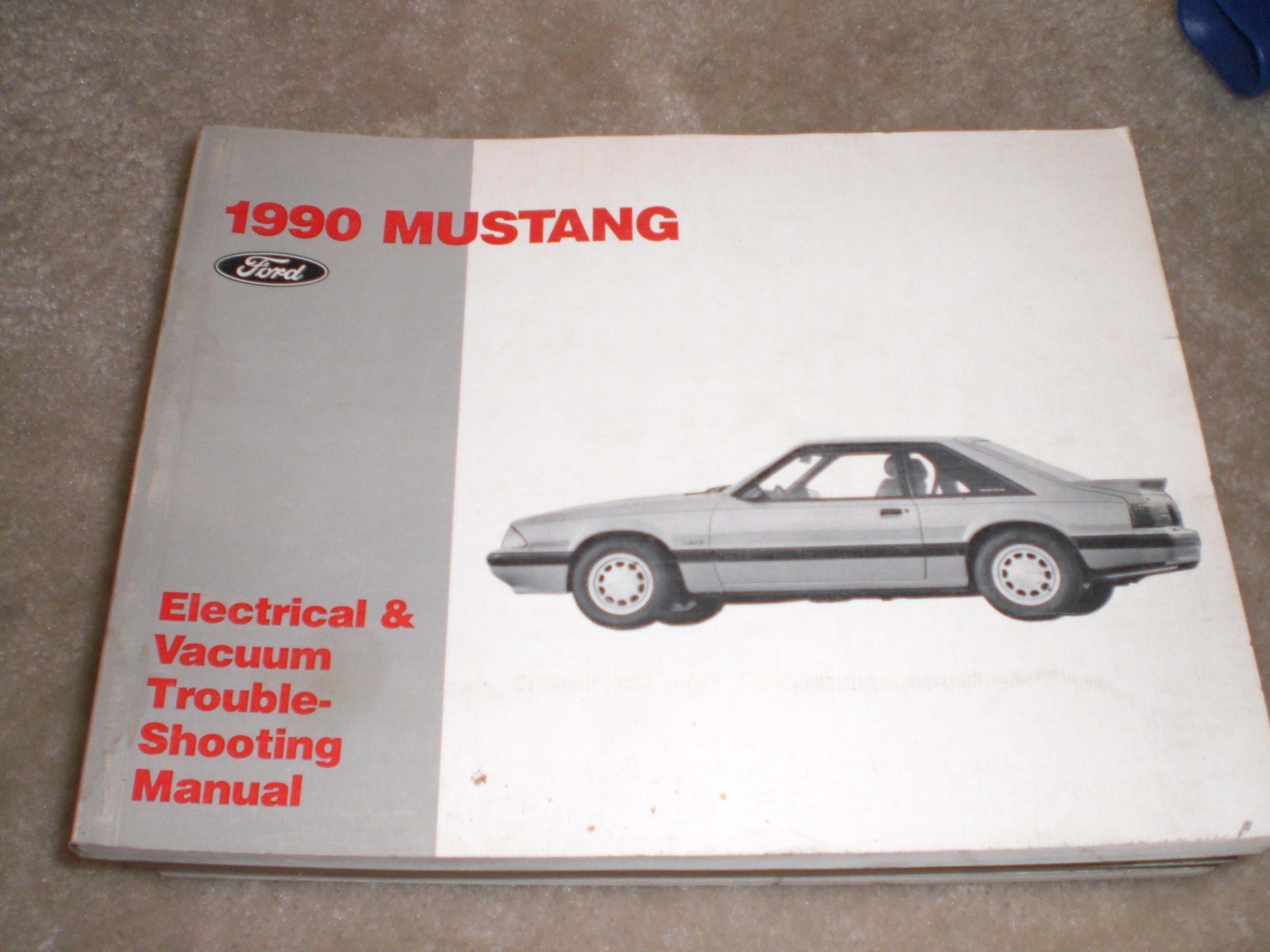1990 Ford Mustang Electrical & Vacuum Troubleshooting Manual Original: Ford  Motor Company: Amazon.com: Books
