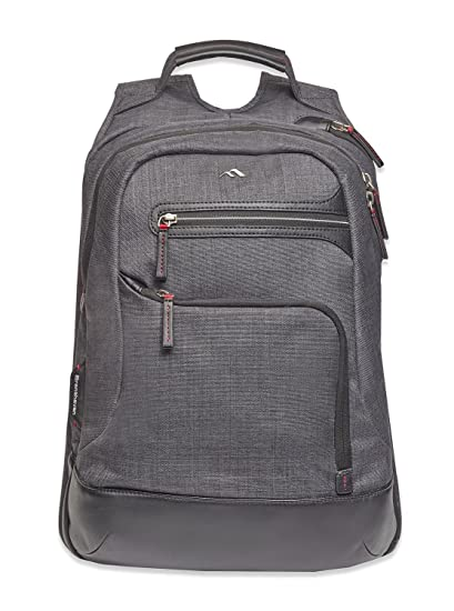 8ef74ef97303 Brenthaven Collins Backpack with Ergonomic Strap Fits 15 Inch Laptop,  MacBook, Chromebook for Office, Business - Graphite, Rugged Protection from  ...