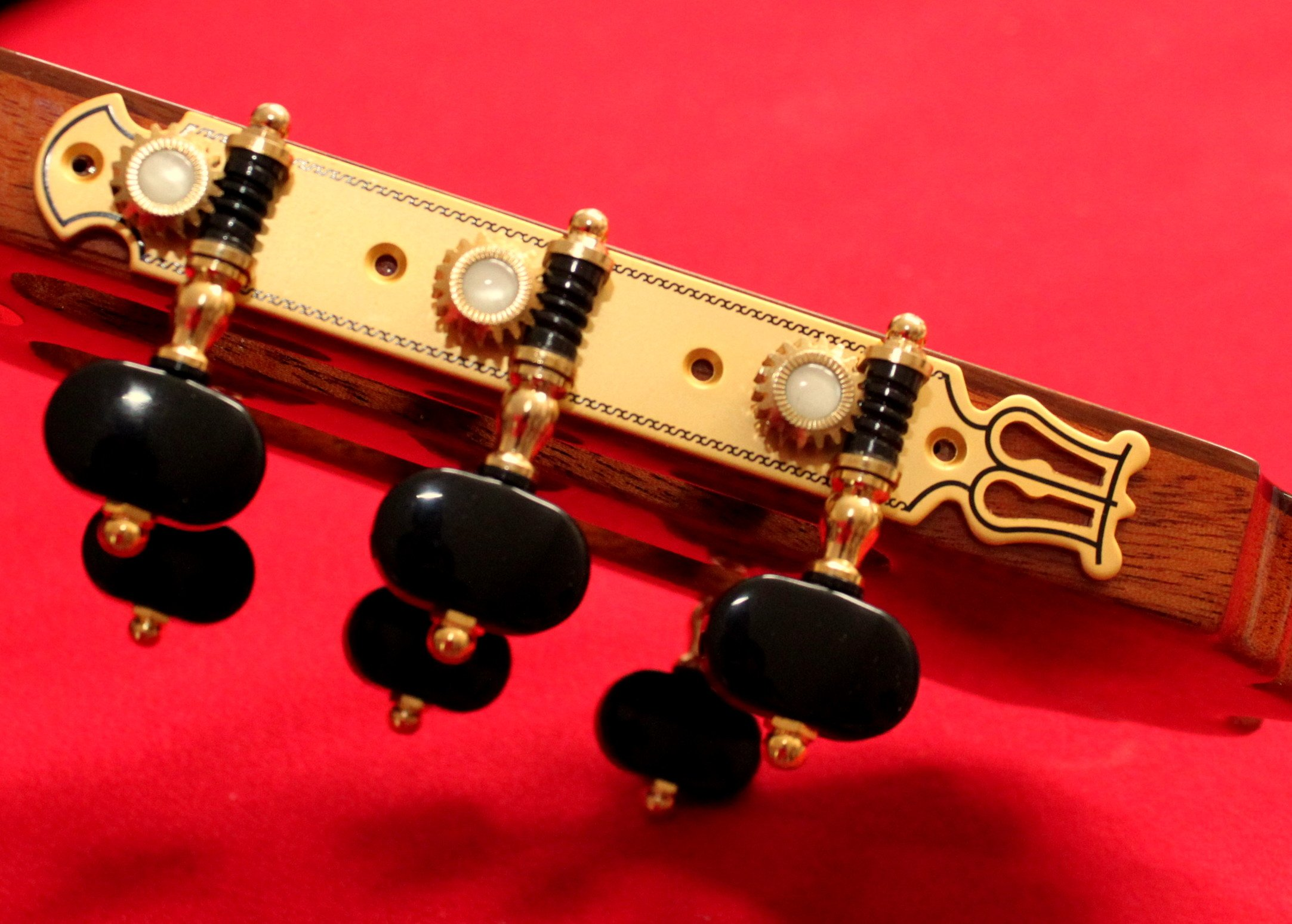 DJ102G-S4 Classical Flamenco Guitar Pegs Brass Friction free System
