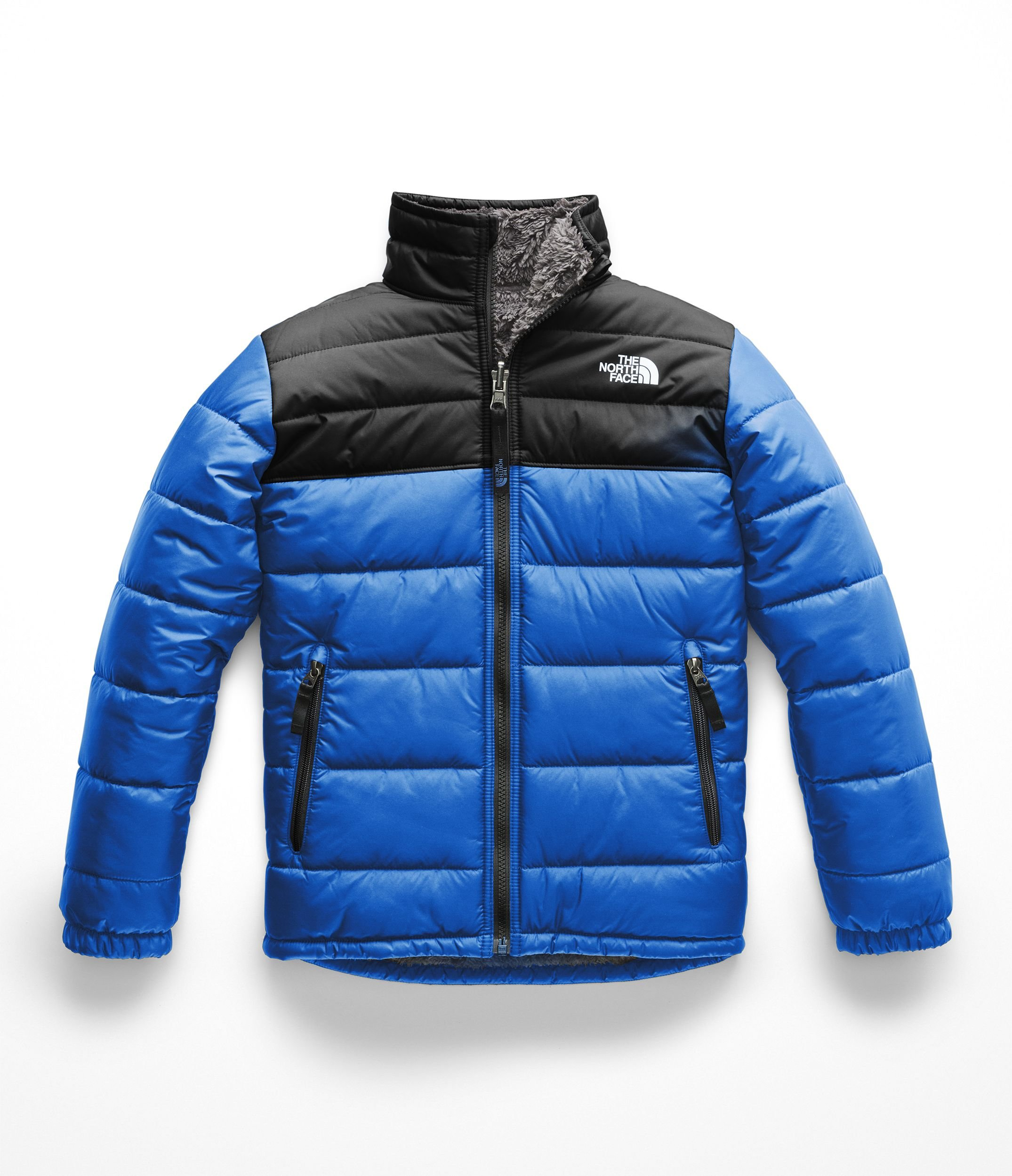 The North Face Boys Reversible Mount Chimborazo Jacket - Turkish Sea - S