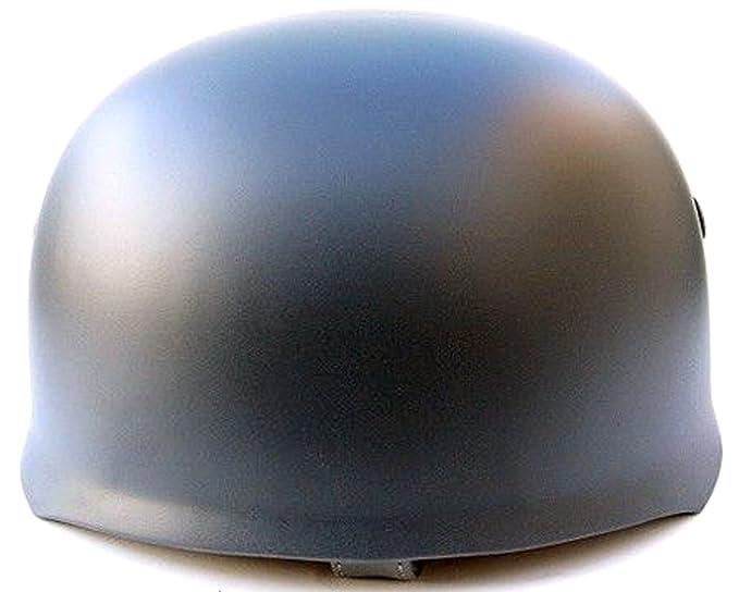 NuoYa005 helero alemán WW2 M38 Paracaidista Repro gris y casco fusco: Amazon.es: Deportes y aire libre
