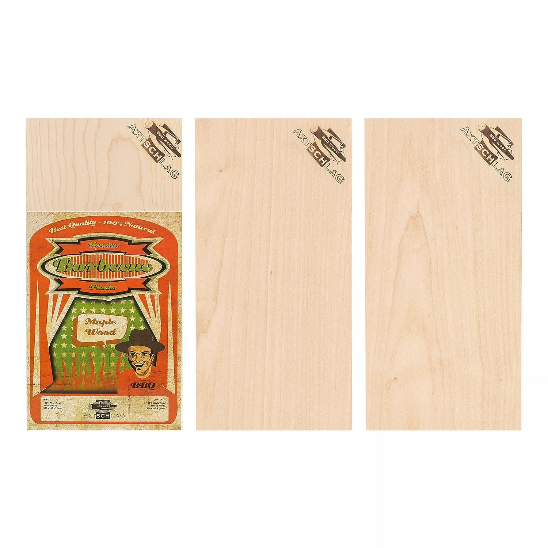 Placca Tavoletta in legno di Acero Axtschlag 30x15cm 3pz