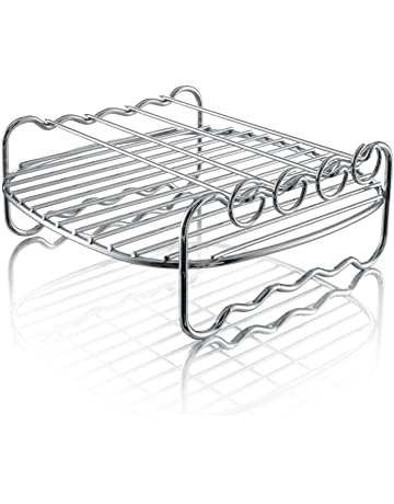Philips Kitchen FBA_HD9904/00 Philips HD9904/00 Double Layer Rack with Skewers, for