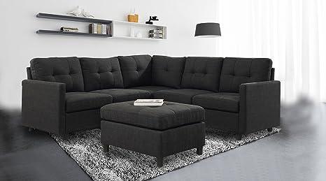 Amazon.com: Moderno Modular seccional sofás conjuntos ...