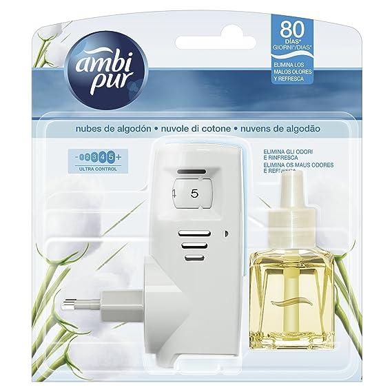 Ambi Pur Nubes De Algodón Difusor y Fragancia para Ambientador Eléctrico - 21,5 ml: Amazon.es: Amazon Pantry
