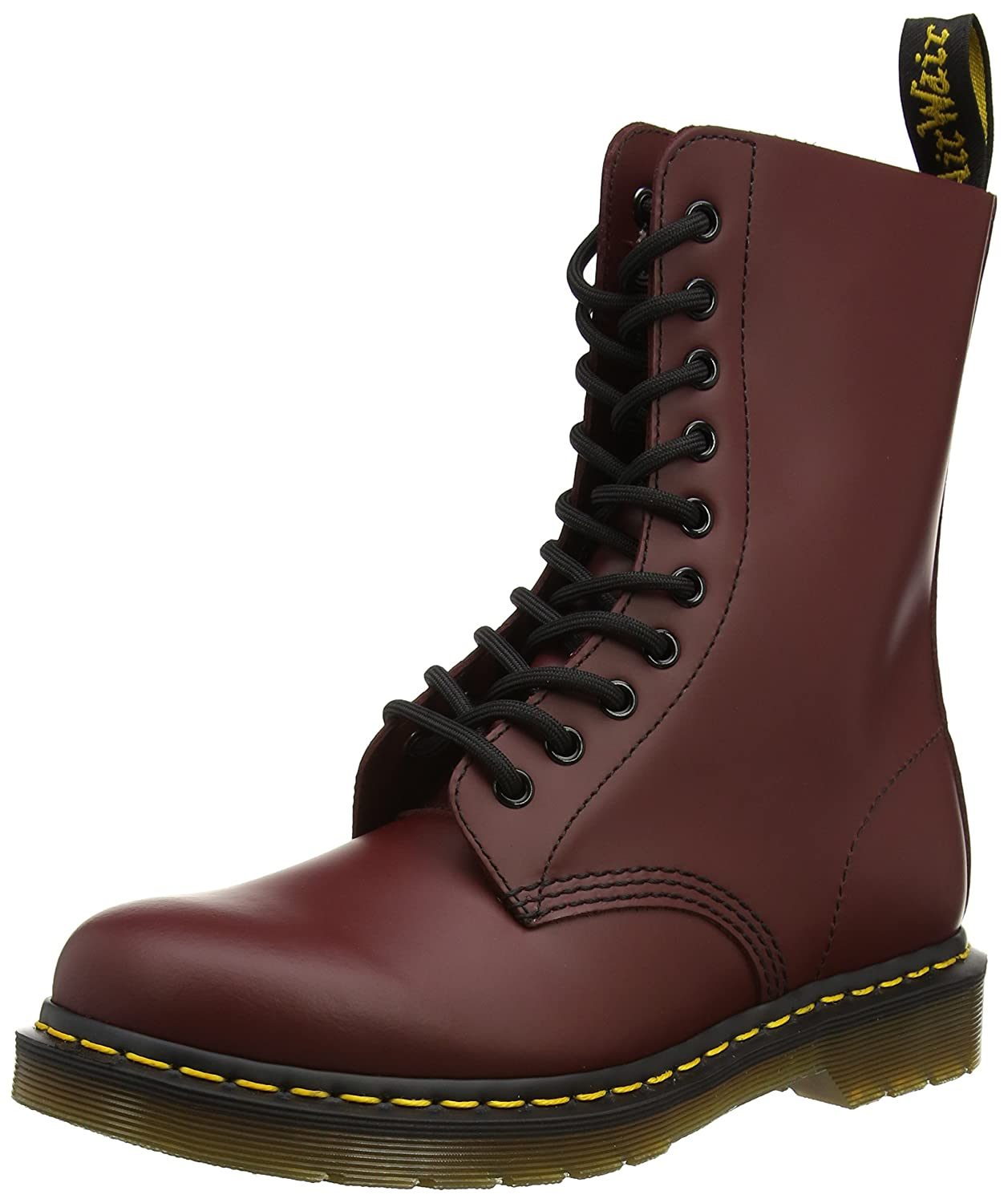 Dr. Martens 1490 Boot B000W8AKRS 4 UK/M 5- W 6 M US|Cherry Red