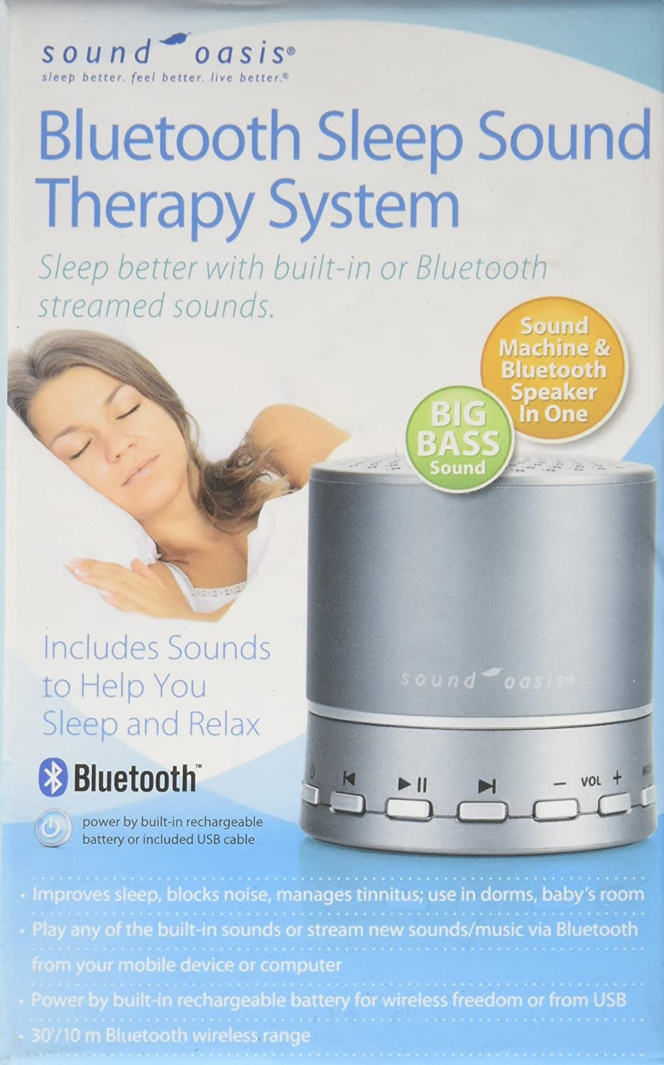 Sound Oasis/® Bluetooth Sound Therapy System