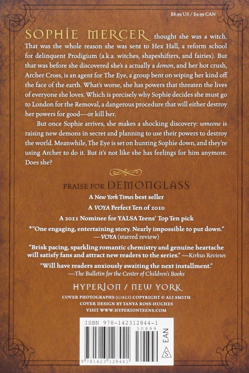 Amazon: Demonglass (a Hex Hall Novel) (9781423128441): Rachel Hawkins:  Books