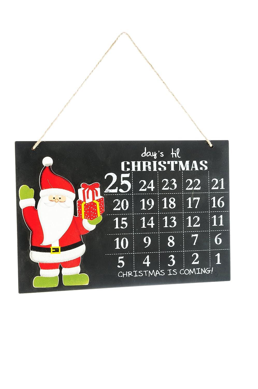 Weihnachten Countdown chaulk Board DSL