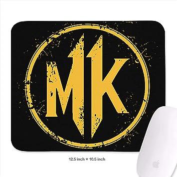 Amazon Com Mortal Kombat 11 Logo Mouse Pad Rectangle Non Slip