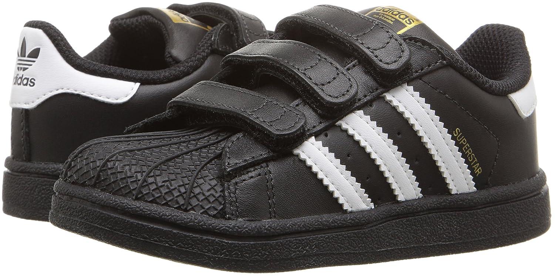 Adidas Originals Kids' SUPERSTAR Foundation CF I zapatillas negro