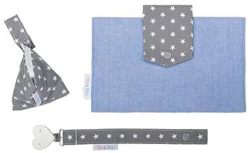 Filia & Filius neceser para pañales para bebé (3 piezas, con bolsa para