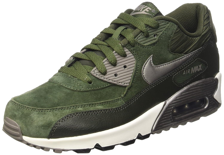 2807b8a83 Nike Wmns Air Max 90 Lthr, Women's Trainers, Green (Carbon Green/Mtlc  Pewter-Sq-Sl), 4 UK (37.5 EU): Amazon.co.uk: Shoes & Bags