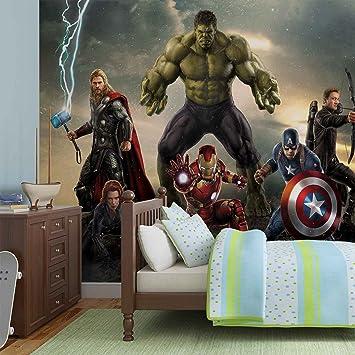 Marvel Avengers Lutte Papier Peint Photo Décoration Murale Image