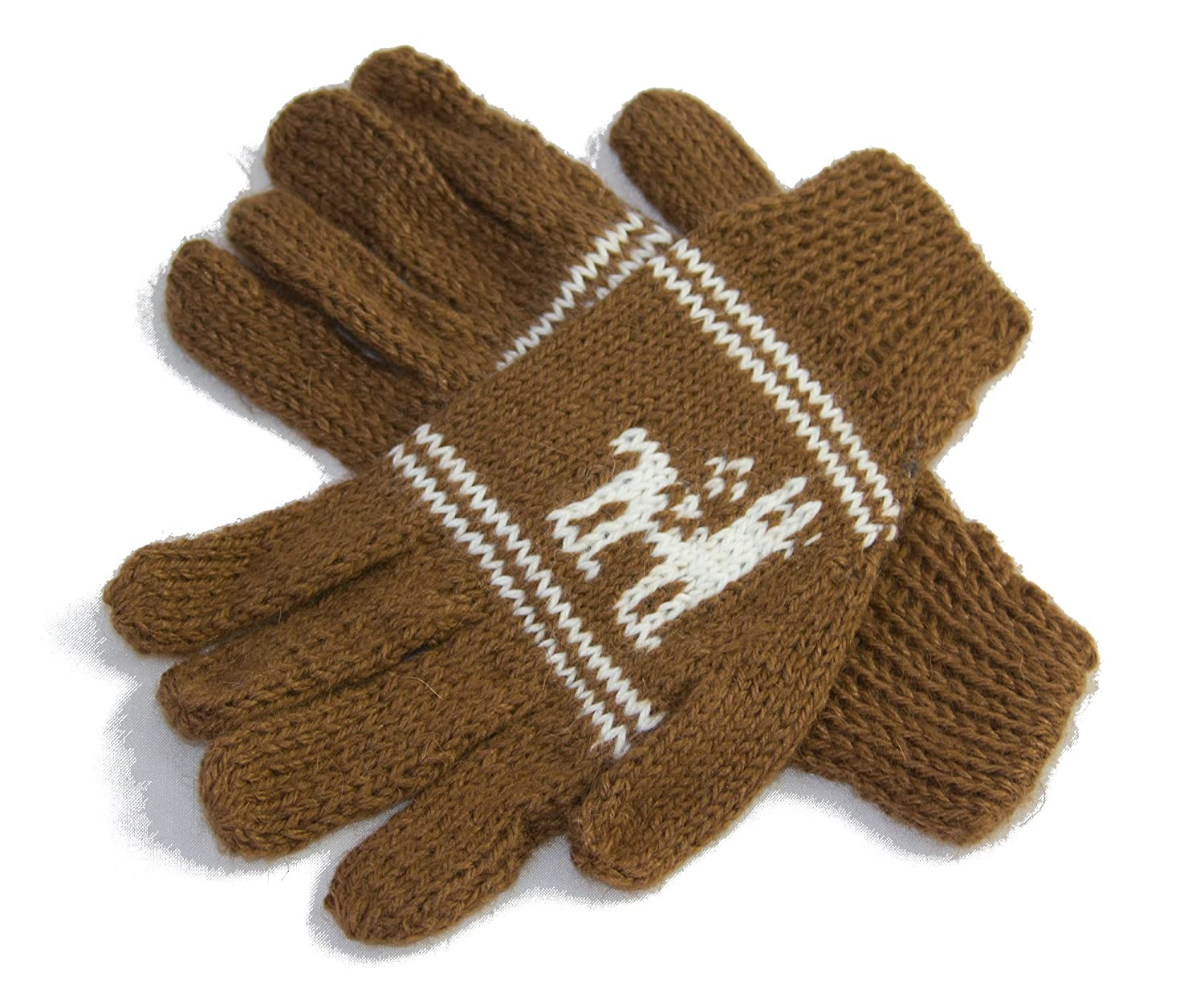 Alpaca Child's Gloves, range of natural colours-Fair trade and ethically sourced from Bolivia, One Size