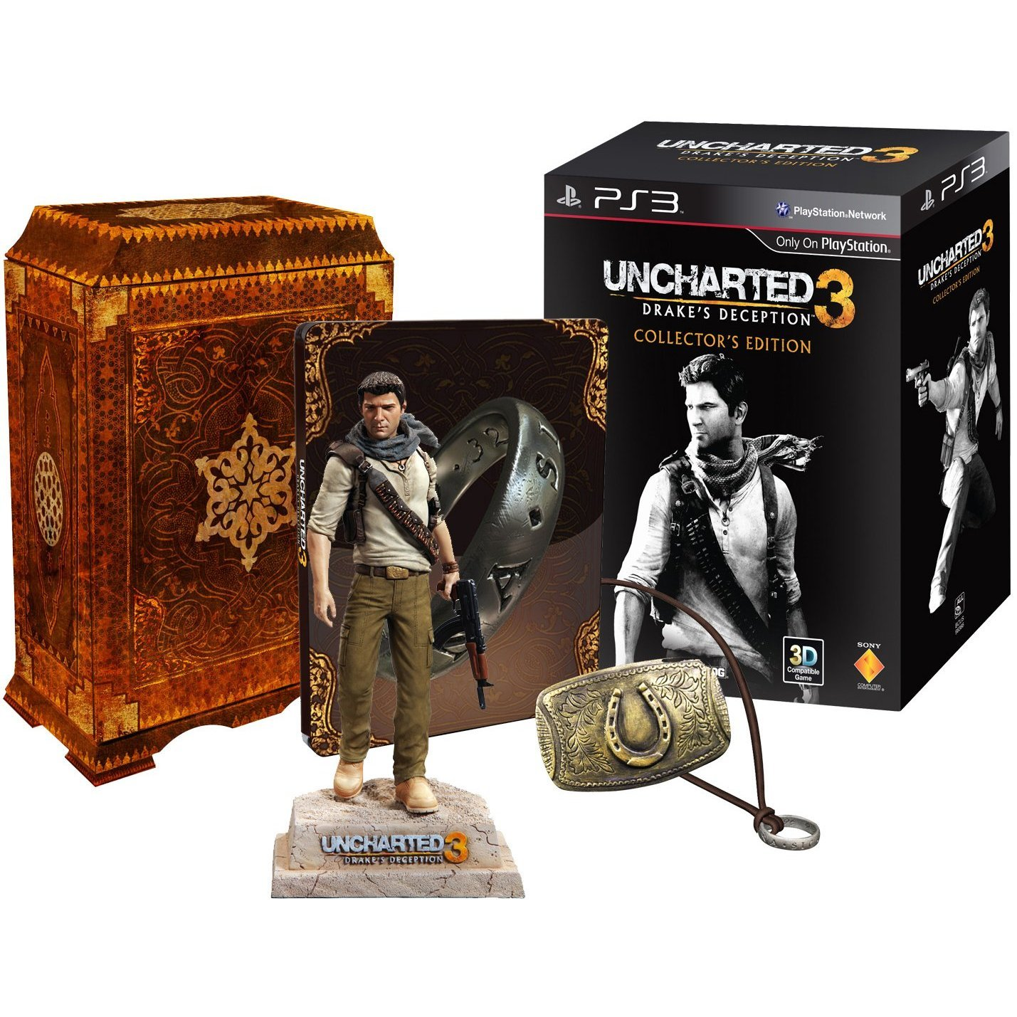 Amazon Com Uncharted 3 Drake S Deception Collector S Edition