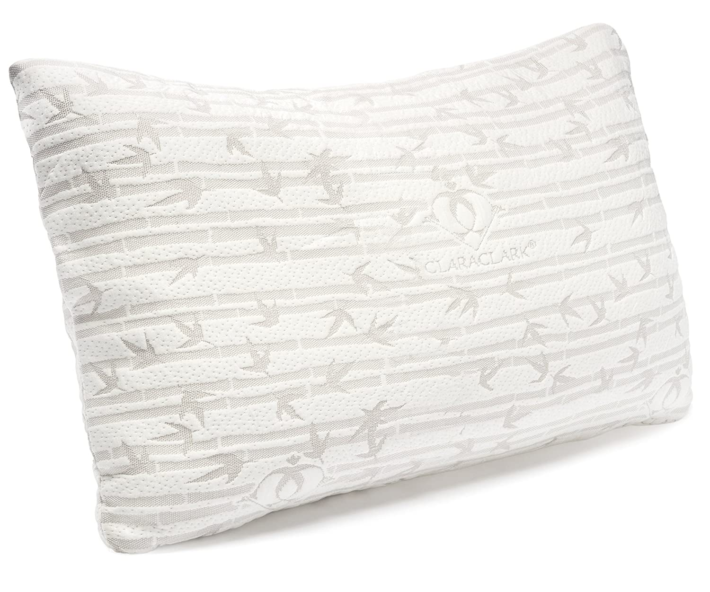 Clara Clark Premium Memory Foam Pillow (Budget Pick)