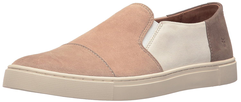 FRYE Women's Gemma Cap Slip Fashion Sneaker B01H4X8TGC 8 B(M) US|White/Multi