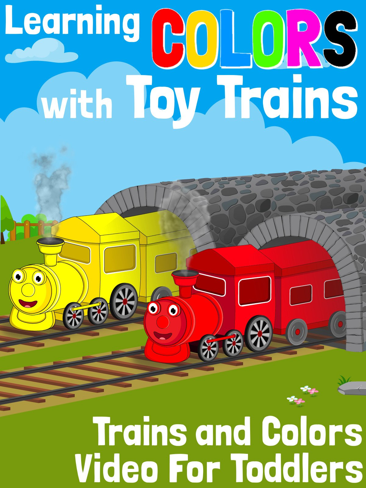 Learning Colors With Toy Trains on Amazon Prime Video UK