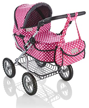 Molly Dolly Deluxe Dolls Pram  Amazon.co.uk  Toys   Games c8d2ce323e