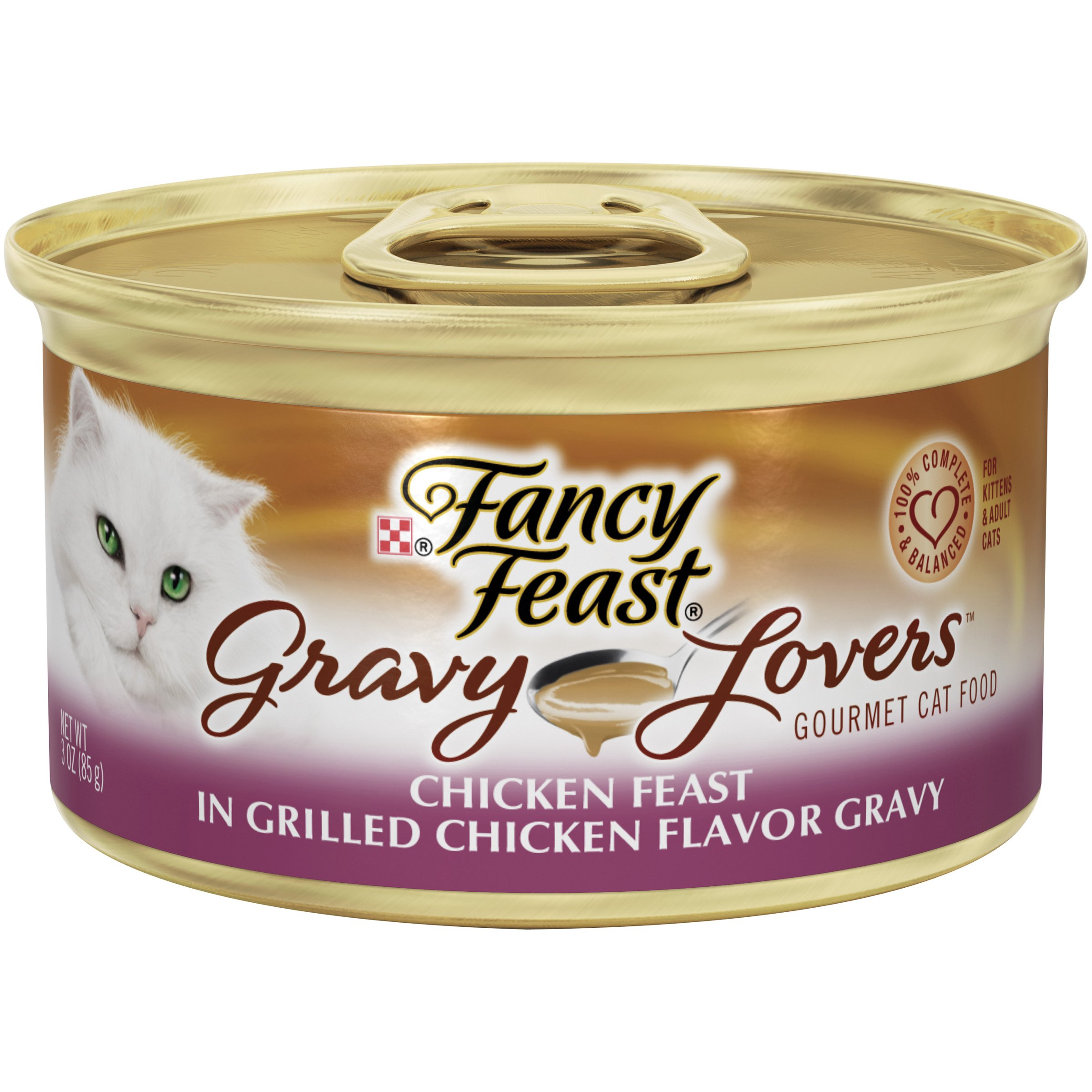Purina Fancy Feast Gravy Lovers Wet Cat Food - (24) 3 oz. Cans