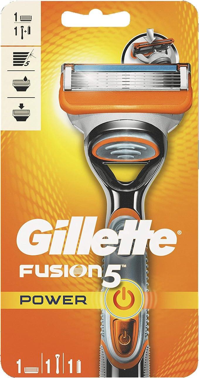 Gillette Fusion5 Power Maquinilla: Amazon.es: Salud y cuidado personal