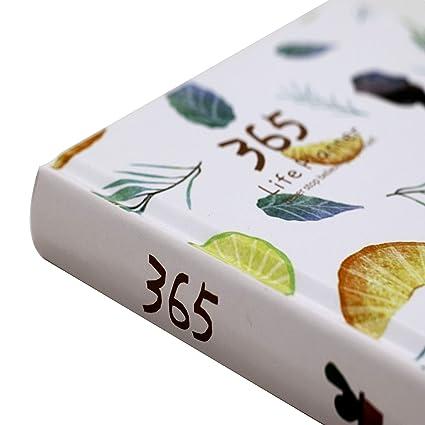 Agenda Anual organizador 365: Amazon.es: Oficina y papelería