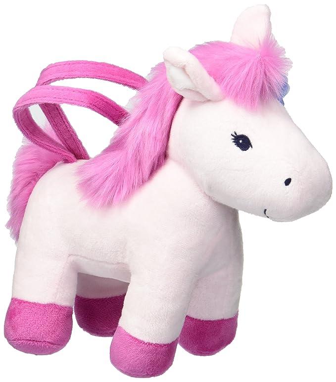 Amazon.com: Gymboree Little Girls caballo, de felpa bolsa ...