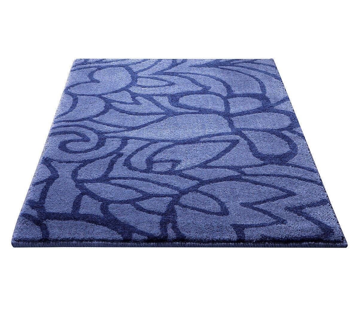ESPRIT Badteppich Flower Shower - blau - 70 x 120 cm