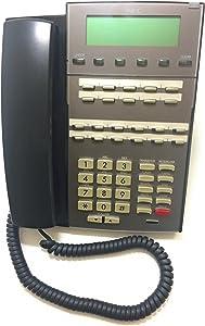 NEC 1090020 DSX 22-Button Display Telephone - Black