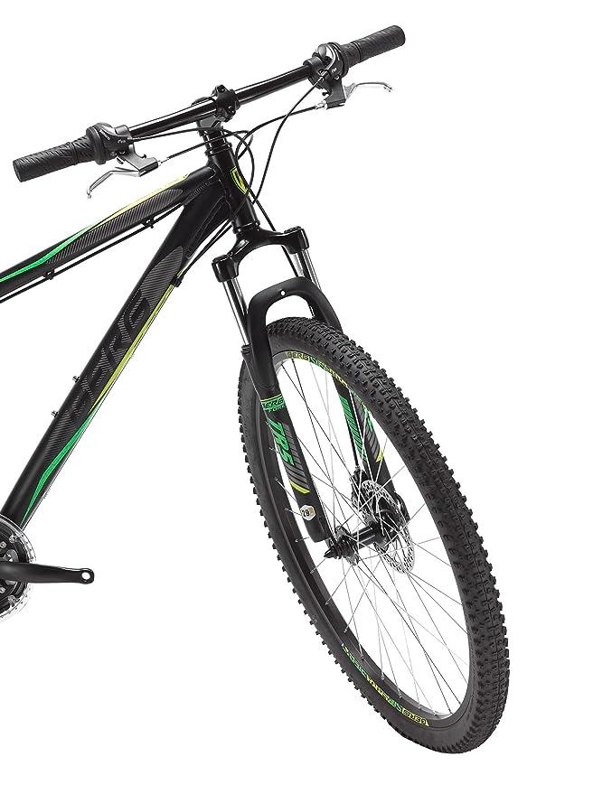 Berg Bicicleta Sierra 20 7N Man L BK/Gn_Cy Negro/Verde: Amazon.es ...