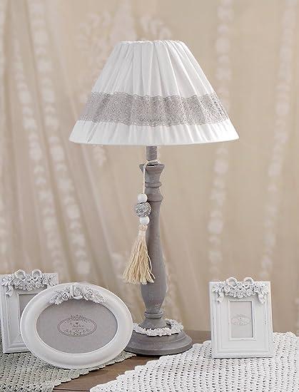 Angelica Home & Country Lámpara de Mesa lámpara Nocturna ...