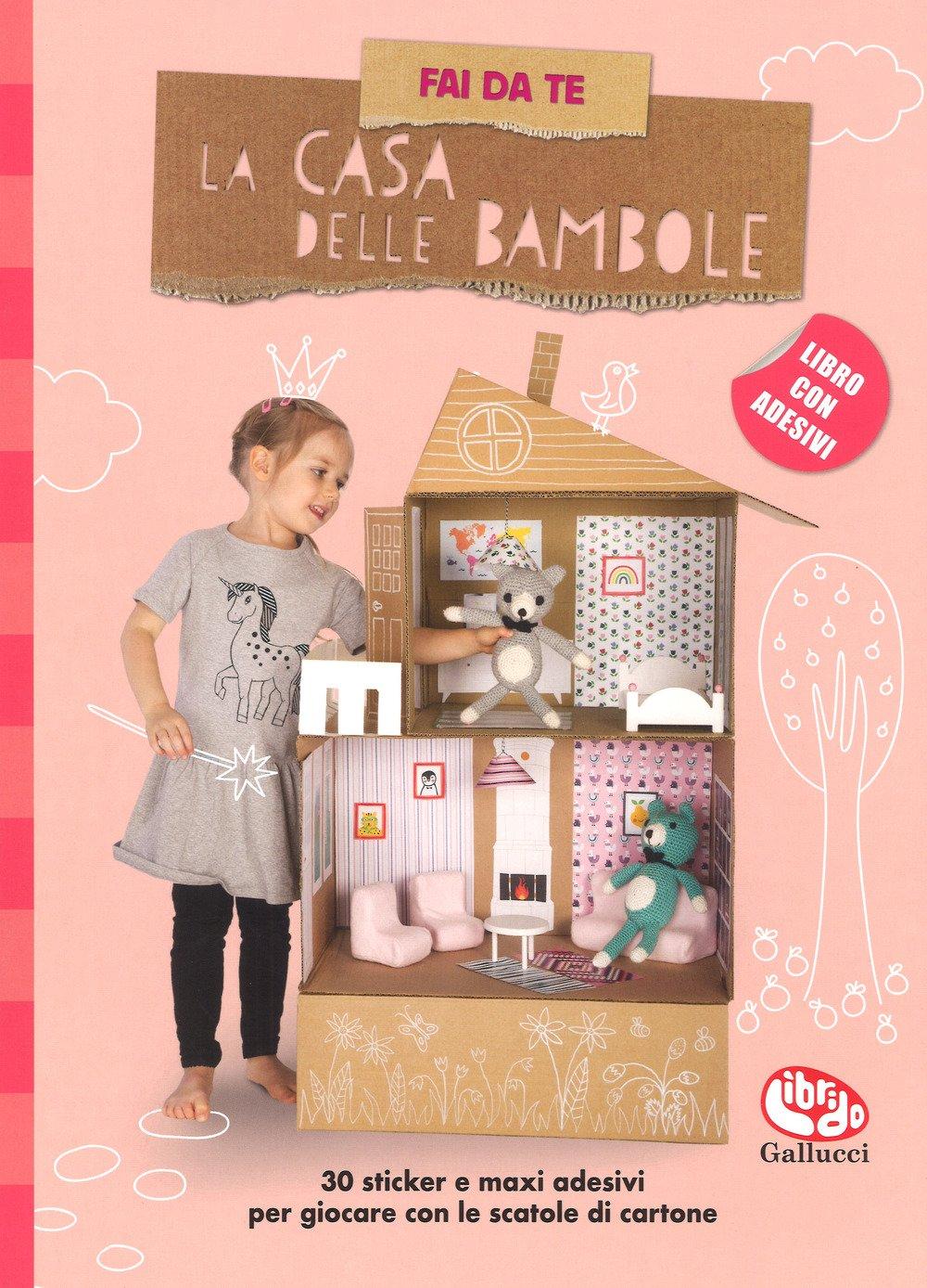 stickers casa bambole