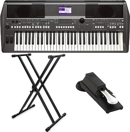 Yamaha PSR de S670 Keyboard Set (con función de DJ, incluye ...