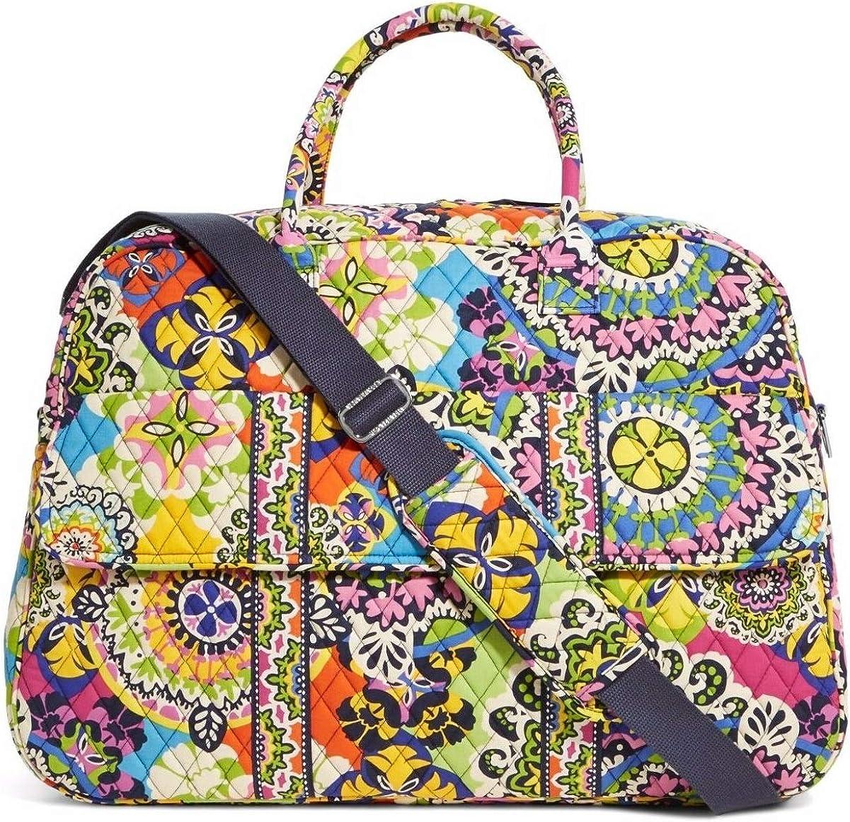 Vera Bradley Luggage Womens Grand Traveler Rio Duffel Bag