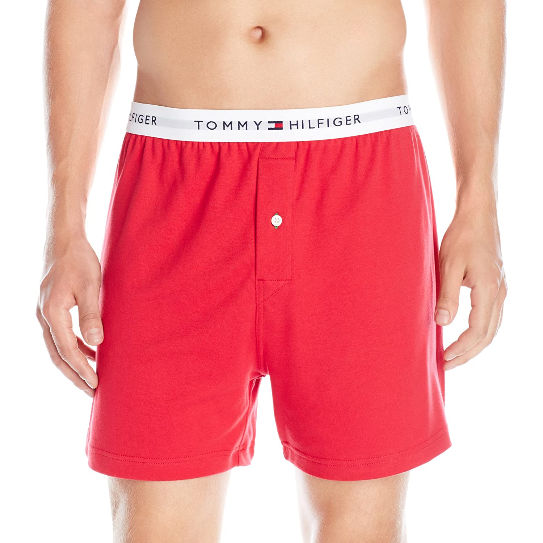 Tommy Hilfiger Mens Underwear Knit Boxers Boxer Shorts