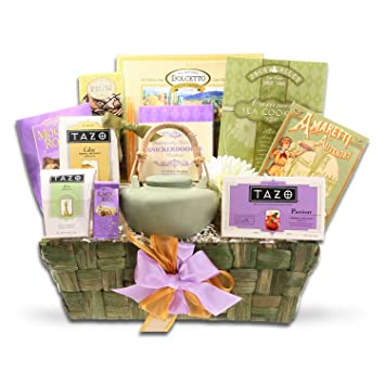 Image Unavailable. Image not available for. Color: Organic Stores Gift Baskets Tazo Tea ...