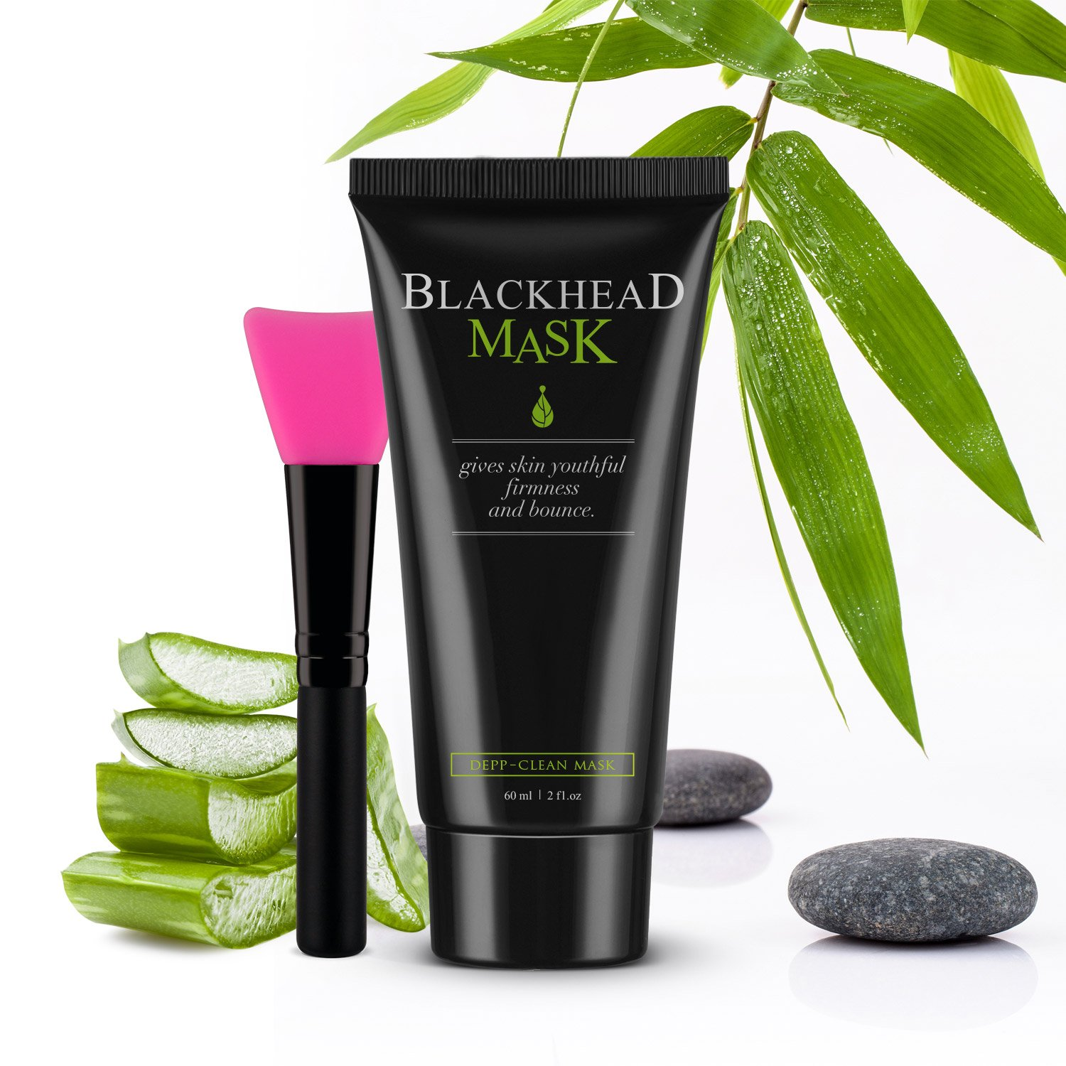 Peel Off Mask Blackhead Remover Activated Charcoal Inez Acne Care Facial Cleanser Deep Cleansing Pore Cleaner With Brush Kit 60g Beauty