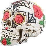 Day of the Dead Dod Tattoo Sugar Skull Head Display Decoration