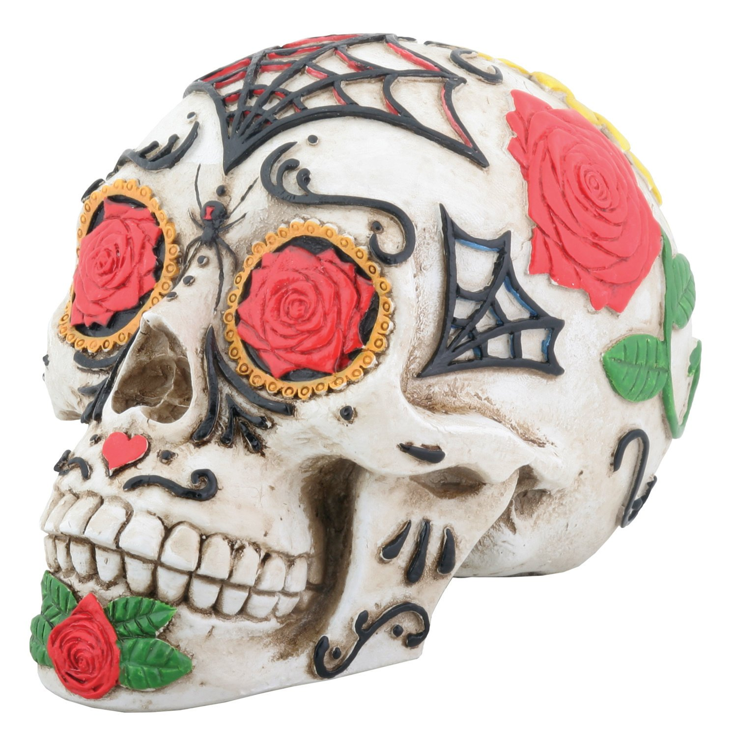 amazon com day of the dead dod tattoo sugar skull head display